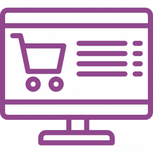 ícone ecommerce